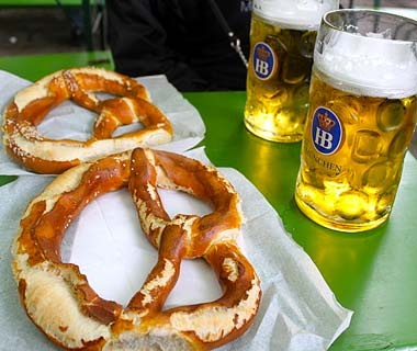 Beer and Pretzels, Munich