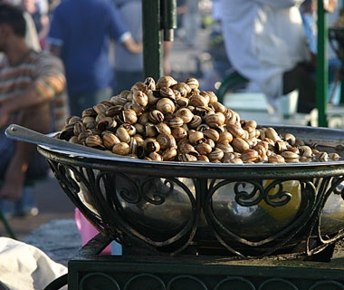 Roasted Snails, Marrakesh