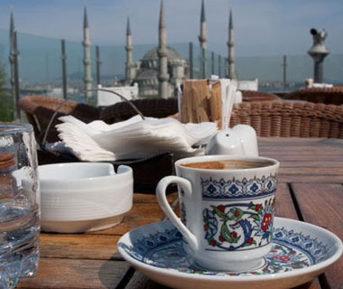 Rooftop Coffee, Istanbul