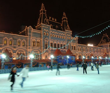 Red Square Rink, Moscow
