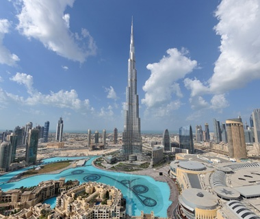 Biggest Building: BurjKhalifa, Dubai, UAE