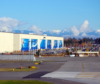 Biggest Factory: Boeing Everett Factory, Everett, WA