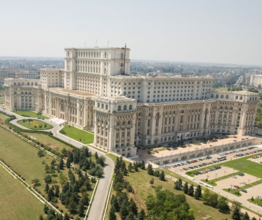 Biggest Parliament: Palace of the Parliament, Bucharest, Romania