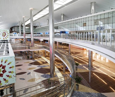Biggest Airport Terminal: Terminal 3 (T3), DubaiInternational Airport, United Arab Emirates