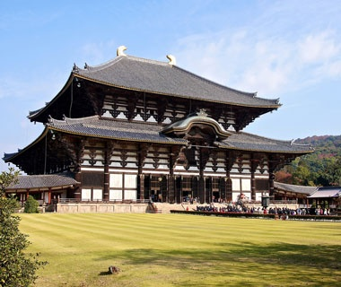 Biggest Wooden Building: Great Buddha Hall at Todai-jiTemple, Nara, Japan