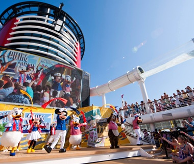 No. 4 Disney Cruise Lines