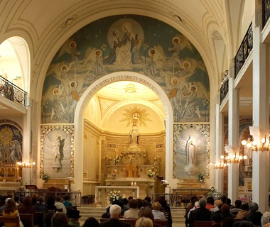 No. 34 Chapel of Our Lady of the Miraculous Medal, Paris