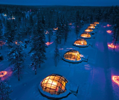 Sleep Under the Northern Lights in Finland