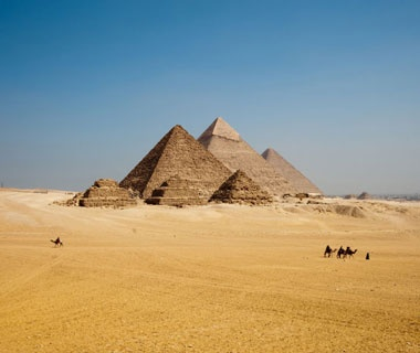 No. 26 Pyramids of Giza, Egypt