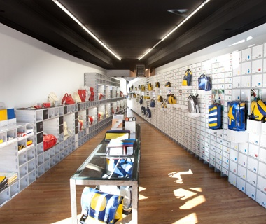 Best Retail Space Freitag Store, New York City