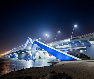Best Bridge Sheikh Zayed Bridge, Abu Dhabi, United Arab Emirates