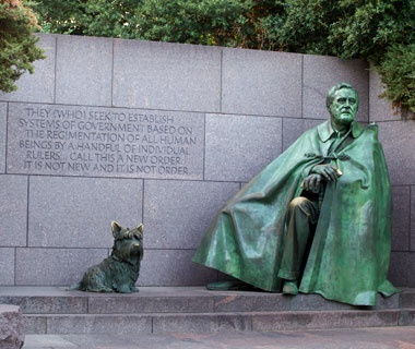 No. 7 FDR Memorial, Washington, D.C.