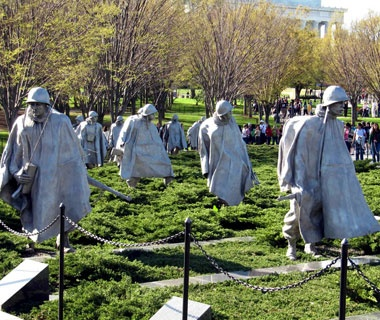 No. 6 Korean War Veterans Memorial, Washington, D.C.