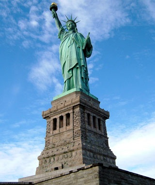 No. 4 Statue of Liberty, New York/New Jersey