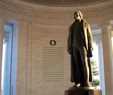 No. 10 Thomas Jefferson Memorial, Washington, D.C.