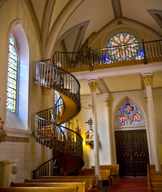Loretto Chapel Staircase, Santa Fe, NM
