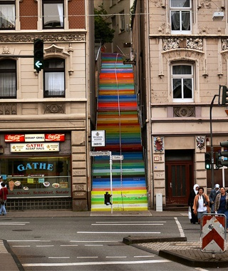Scala (Rainbow Staircase), Wuppertal, Germany