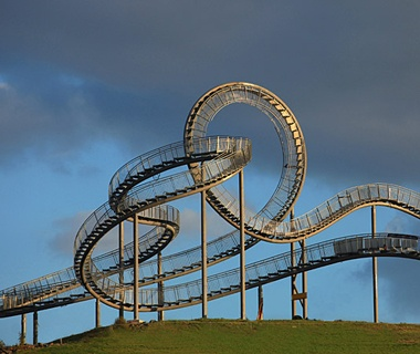 Tiger & Turtle—Magic Mountain, Duisburg, Germany