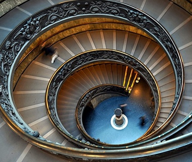 Vatican Museums' Spiral Staircase, Rome