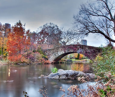 Gapstow Bridge, Central Park, New York City