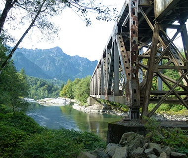 Bridge, Index, WA