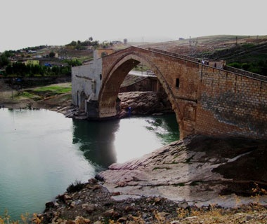 Malabadi Bridge, Silvan, Turkey