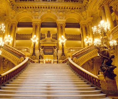 Grand Opera Staircase, Paris