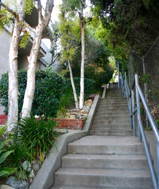 Music Box Steps, Los Angeles