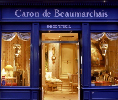 Right Bank, Fourth Arr.: Hôtel Caron de Beaumarchais