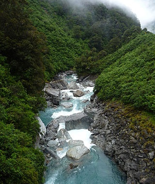 Gates of Haast, New Zealand