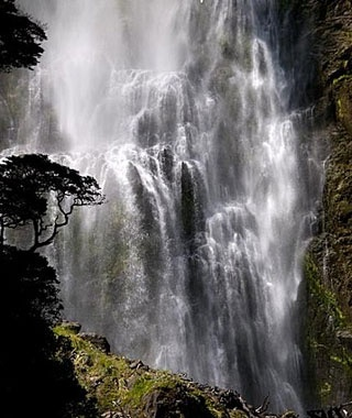 Devils Punchbowl Falls, New Zealand
