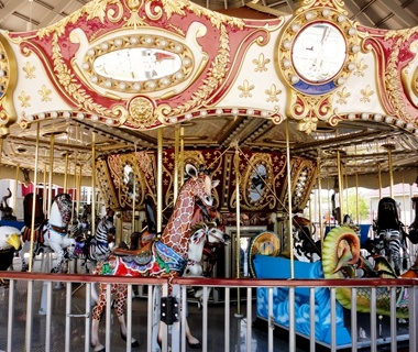 America S Best Carousels Travel Leisure