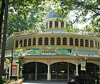Riverview Carousel, Six Flags Over Georgia, Austell, GA