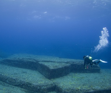 Yonaguni Monument, Okinawa, Japan