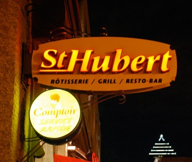 Canada (mainly Quebec): St. Hubert