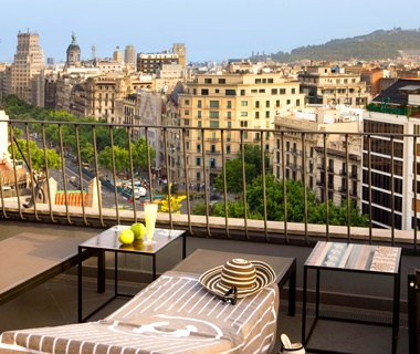 No. 9 Hotel Majestic, Barcelona, Spain