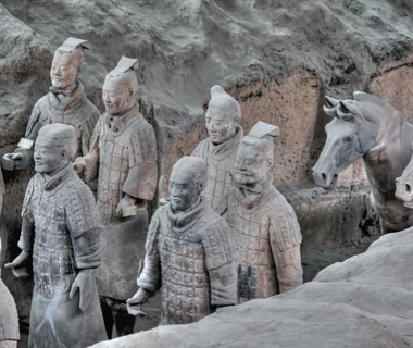 No. 4 Terracotta Army, Xi'an, China