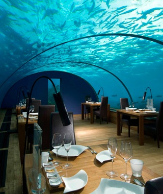Ithaa Undersea Restaurant, Conrad Rangali Resort, Alif Dhaal Atoll, The Maldives