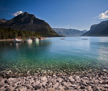Lake Minnewanka, Banff National Park, Canada