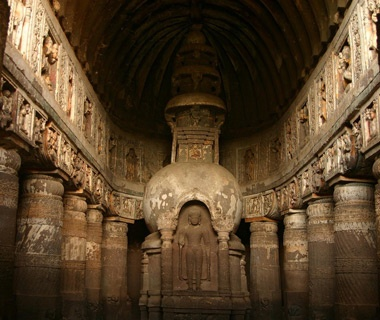 No. 32 Ajanta Caves, India