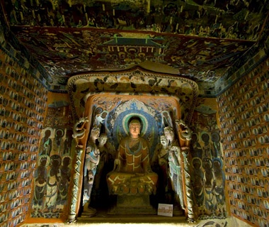 No. 22 Mogao Grottoes (Caves of the Thousand Buddhas), Dunhuang, China