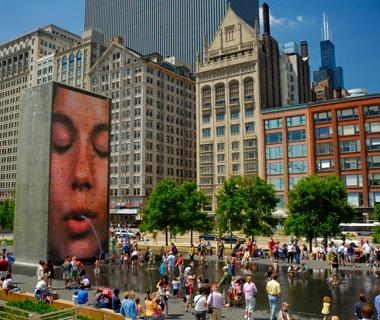 Crown Fountain, Chicago