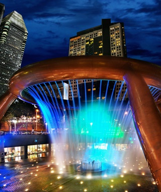 The Fountain of Wealth at Suntec City, Singapore