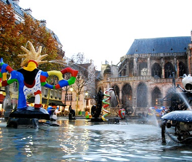 Stravinsky Fountain, Paris