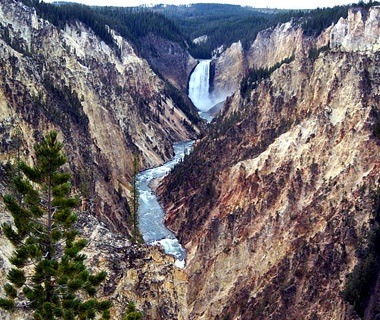 Lower Falls, Yellowstone National Park, WY