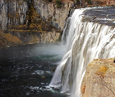 Mesa Falls, Targhee National Forest, ID
