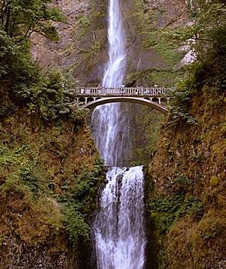 Multnomah Falls, Cascade Locks, OR