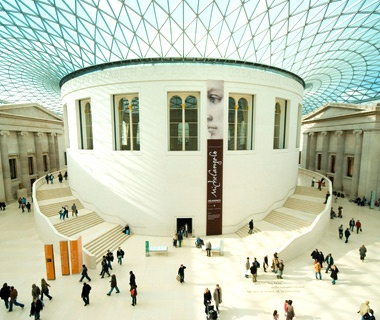 europe tourist attraction British Museum in London, UK