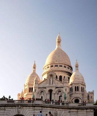 Sacré Coeur Basilica in Paris, France