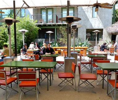 Hotel San Jose Courtyard Bar, Austin, TX